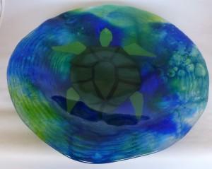 turtle on bluGrn DP